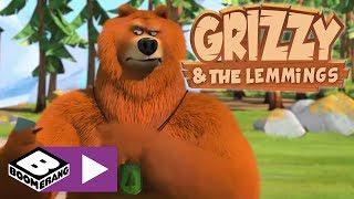 Grizzy ve Lemmingler | Yerçekimi | Boomerang