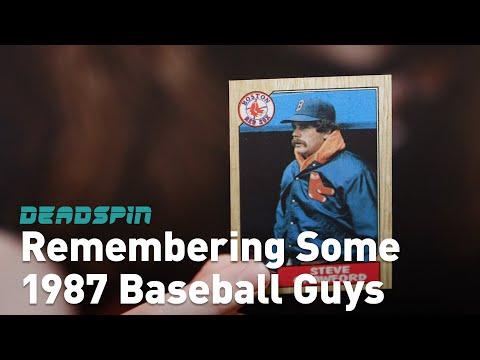 Remembering Some 1987 Topps Baseball Guys