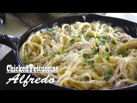 The Best Chicken Fettuccine Alfredo (recipe)