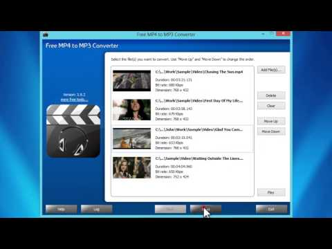 How to Convert MP4 to MP3 with Free MP4 to MP3 Converter Software