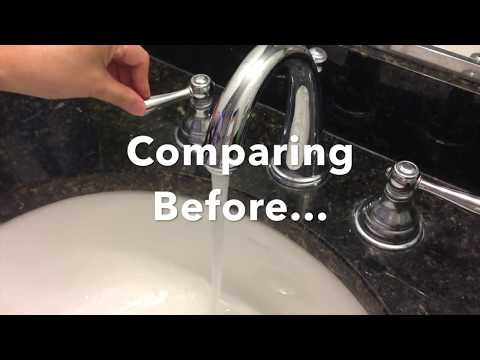 How to quiet a noisy water flow from faucet in a few minutes without a plumber or special tools