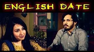ENGLISH DATE | Karachi Vynz Official | Hilarious