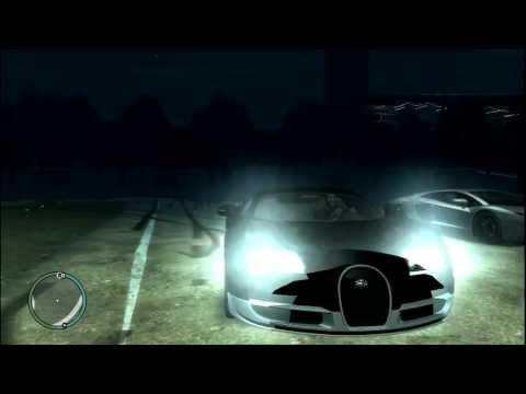 Bugatti Veyron Super Sport and Lamborghini Aventador in GTA 4