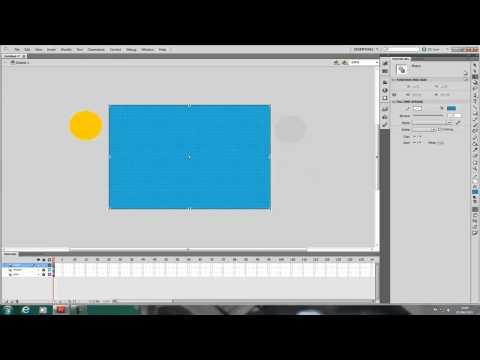 Adobe Flash - How to make a movie clip