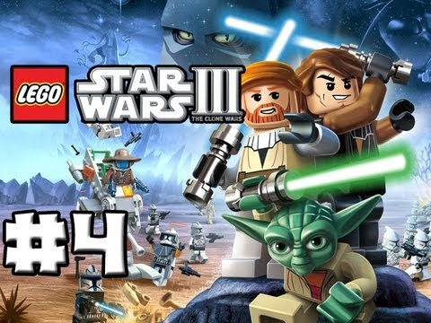 LEGO Star Wars 3 - The Clone Wars - Episode 04 - The Hidden Enemy 1/2 (HD)