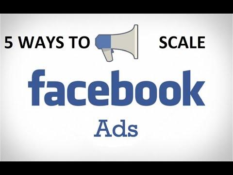 5 Ways/Methods To Scale Winning Facebook Ads