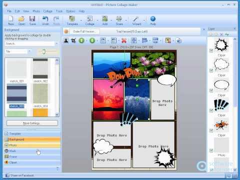 Picture Collage Maker video demo