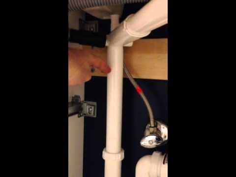 IKEA Plumbing Hack GODMORGON sink with RINNEN plumbing