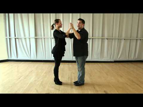 Learn How to Dance - The Rumba - beginner box lesson