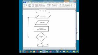 Creating A Simple Flowchart In Microsoft Word