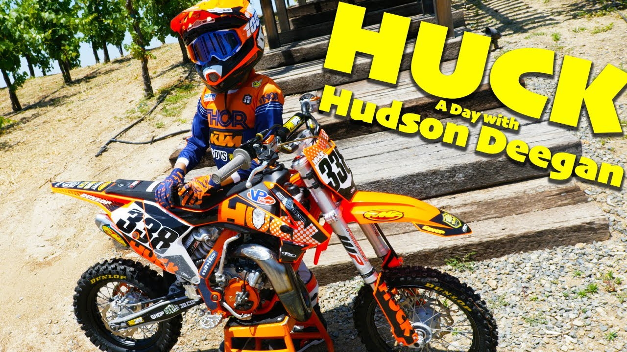 HUCK! What it's like to be in Hudson Deegan's shoes for a day! - Dirt Bike Magazine
