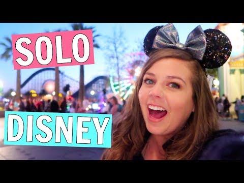 I Went to Disneyland by Myself!