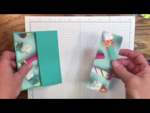 Gate Fold with Belly Band using Picture Perfect Birthday and Designer Series Paper