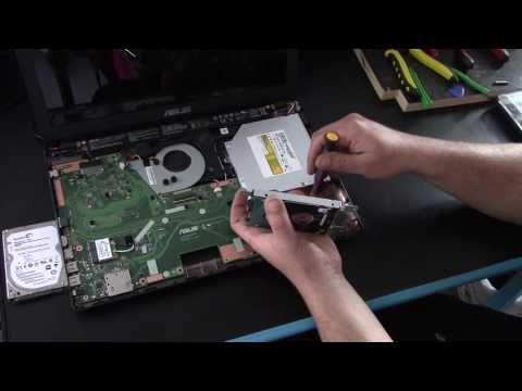 Asus X551M hard disk replacement