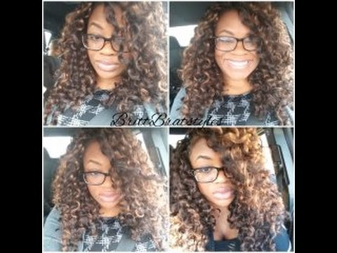 Crochet braids presto and gogo curl/ cut and style
