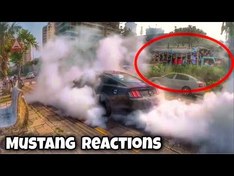 Xxx Mp4 Ford Mustang GT Burnout Reactions Don T Do This On Mumbai Streets Supercars In India 2017 3gp Sex