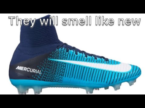How to make your soccer cleats smell good again