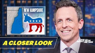 Bernie Wins New Hampshire, Trump and Barr Protect Roger Stone: A Closer Look