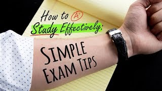 HOW TO STUDY EFFECTIVELY: SIMPLE EXAM TIPS   Doctor Mike