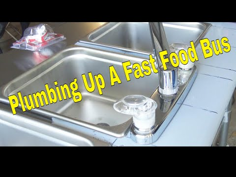 Plumbing up a Fast Food Bus