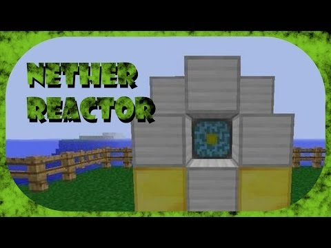 Minecraft PE Nether Reactor Patterns