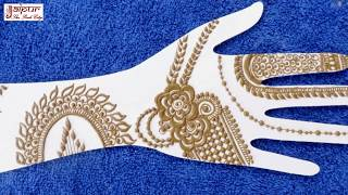 Mehndi Design For Hands - New Mehndi Design for All Occasions by Sonia Goyal @ jaipurthepinkcity