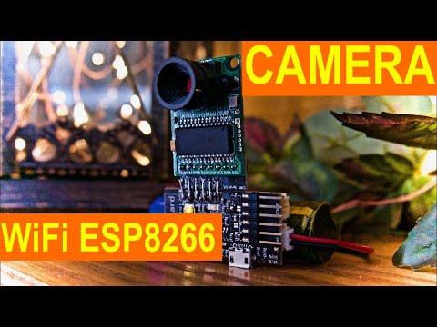 ESP8266 (WiFi) + Camera Tutorial CODE with trigBoard & ArduCam