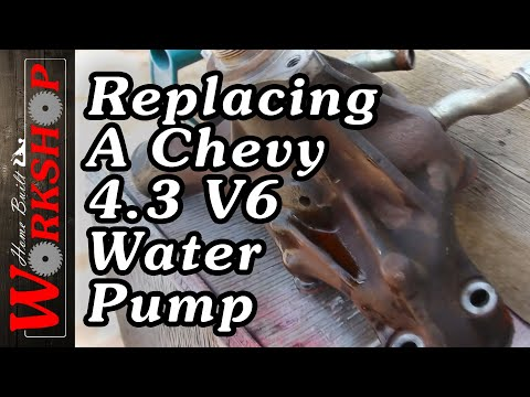 Changing a 1999 Chevy 4.3 V6 Water Pump