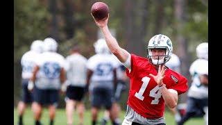 Sam Darnold Jets OTAs highlights