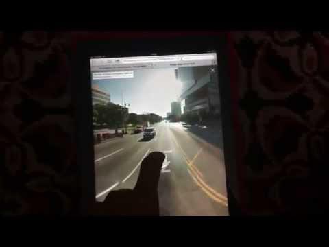 Google Maps Web Street View - iPad (BGiPhone)