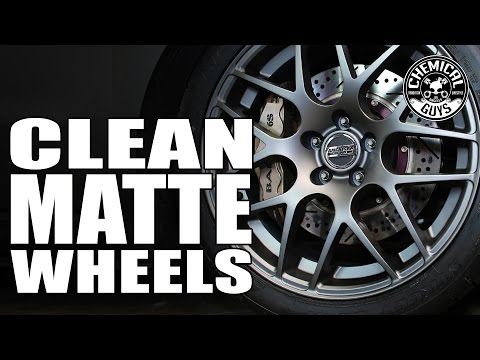 How To Clean Matte Wheels And Rims - Chemical Guys