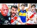 Reacciones De HIJO De RIVER Y PADRE De RACING Torneo Argentino 2019