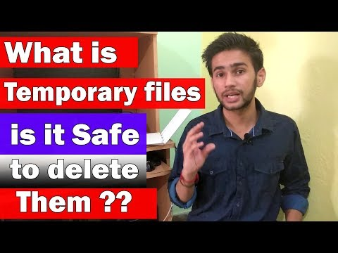 [HINDI] - What is temporary files on pc ? | is it safe to delete them |