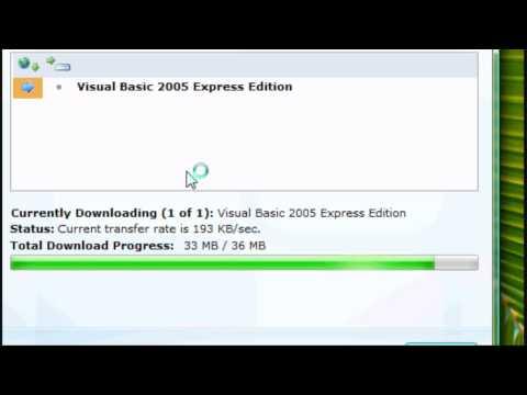 Visual Basic Tutorial 2005 - Installation & Setup
