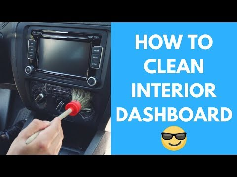 How To Clean Car Dashboard- Vents, Navigation Screen, Turn Signals - Interior Car Detailing