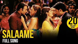 Salaame - Full Song | Dhoom | Abhishek Bachchan | Uday Chopra | Esha | Rimi | Kunal | Vasundhara