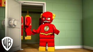 """LEGO DC Super Heroes: The Flash clip - """"Morning with Flash"""""""