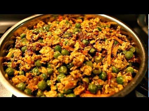 Green Peas Egg Fry
