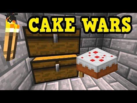 Minecraft Xbox MinePlex - CAKE WARS!?