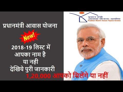 Rs. 1,20,000 वाली प्रधानमंत्री आवास योजना में अपना नाम कैसे देखें? जानिए आपका नाम है या नहीं .....
