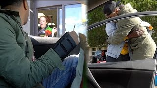 TIPPING DRIVE THRU WORKERS $100 !! SOMETHING AMAZING HAPPENED!!! (MUST WATCH) VLOG