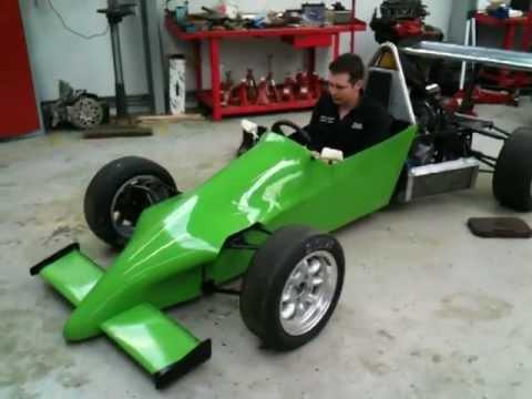 Nemesis single seater racing car 1 - After respray