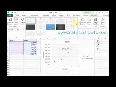 how to make a scatter graph in excel 2013