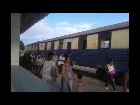 American Tourist Railfanning in Holguin, Cuba - Cuban Railroad Trainspotter - Ferrocarriles de Cuba