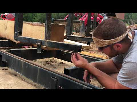 Quick Fix on the Sawmill Track Roller