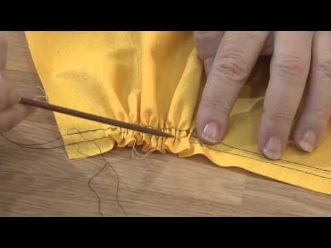 Teach Yourself to Sew: 3 Ways to Gather