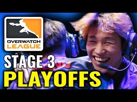 OWL Stage 3 Playoffs - [Overwatch League News & Highlights]