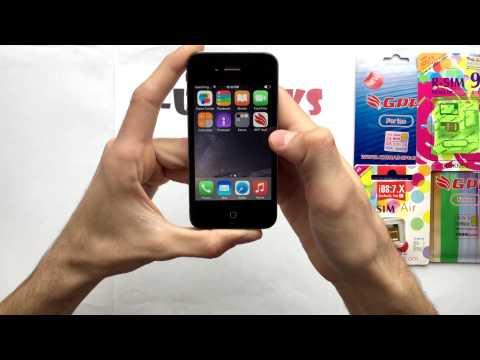 R-sim GPP iOS 8.1.2 - 8.0 Unlock iPhone 4S/5 Sprint - iRose tool
