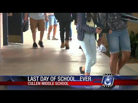 Cullen Middle School holds final last day of school