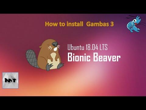 How to Install Gambas 3 on Ubuntu 18.04